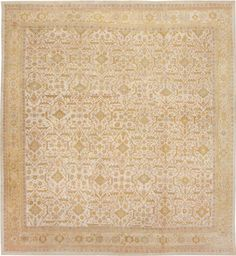 1340 Antique Sultanabad Persian Rug Antique Sultanabad Persian Rugs 1340 Nazmiyal Collection