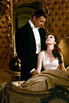 'Gone With The Wind' (1939) Clark Gable and Vivian Leigh
