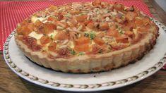 קיש בטטה, גבינת עיזים וצנוברים - איילת מטיילת - תפוז בלוגים