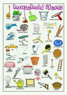 household items, #englishvocabulary
