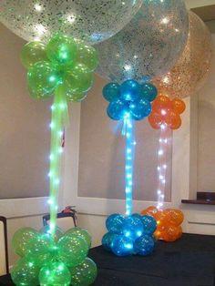 hermosa decoracion para fiesta