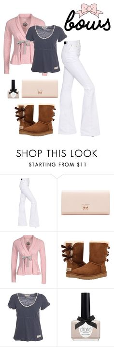 """🎀"" by stella-lam ❤ liked on Polyvore featuring Sonia Rykiel, Ted Baker, Odd Molly, UGG, Ciaté and bows"