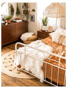 Boho Bedroom Decor, Boho Room, Room Ideas Bedroom, Bedroom Vintage, Cozy Bedroom, Boho Teen Bedroom, Vintage Inspired Bedroom, Urban Bedroom, Earthy Bedroom