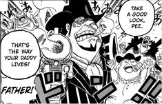 OP Birthdays! Today is the turn of one of the protagonist of the current Arc! The gangster Pirate, Capone 'Gang' Bege! #OnePiece #Birthdays #Bege One Piece Birthdays, One Piece World, Thats The Way, Daddy, Anime, Fictional Characters, Art, Art Background, Kunst