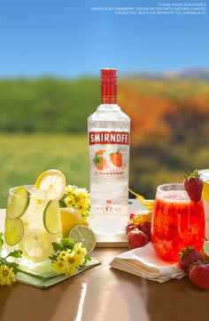 The Strawberry Equinox is the perfect way to bookend the Fall season with easy, tasty Autumn-themed drinks.
