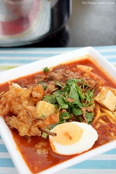 Mee Rebus - One of my favourite malaysian food