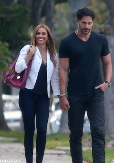 Look at how happy Sofia Vergara looks with Joe Manganiello.