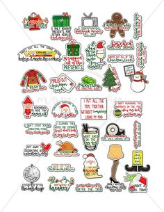 Holiday Adulting Stickers - Free Funny Christmas Planner Stickers | Mom Envy