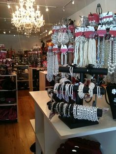 Charming Charlie's: Accessories superstore that is color coded and affordable. I need accessories!