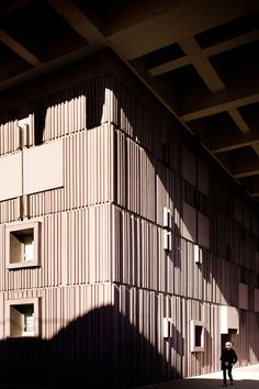 70's architecture in Beaugrenelle area, Paris on Behance