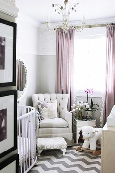 Designer Lindsay Mens Craig takes us inside her daughter's nursery and shows us how to create a soothing space equally suited for both mom and baby.
