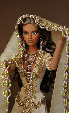 the barbie that accepts religions and cultures of difference. even though she stems from a western world ideology, she is adaptable to the future of changes.