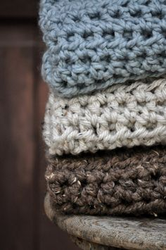 Crochet Baby Blanket Photography Prop por BlackCoffeeDesigns