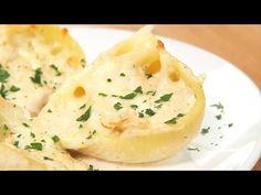 Cheesy Chicken Alfredo Shells - Share The Goodies