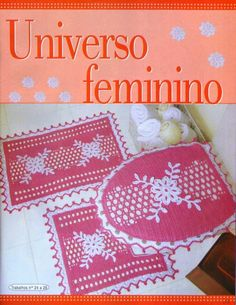 Crochet pink bathroom se ❤️LCB-MRS❤️ with diagrams. --- Crochê da Reh: Jogo de Banheiro Perfeito