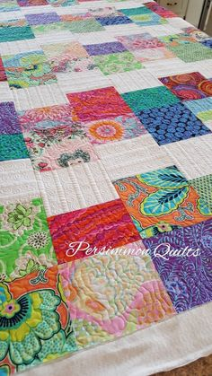 Quilt  made by Tammy. Longarm quilted by Le Ann Weaaver with www.persimmonquilts.com