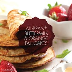 Kellogg's All-Bran S. added 5 new photos to the album: Recipes. All Bran, Soul Food, Pancakes, Tacos, Favorite Recipes, Recipe Images, Baking, Eat, Breakfast