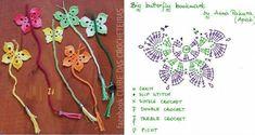 - Diversamente Crochet By MaryRose Double Crochet, Marque-pages Au Crochet, Crochet Cross, Crochet Diagram, Crochet Gifts, Irish Crochet, Single Crochet, Cute Bookmarks, Beaded Bookmarks