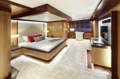 Master bedroom M/Y Prima 2011