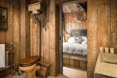 Ultimate rough-luxe hideaway cabin in Cornwall, UK