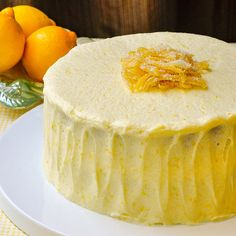 Our most popular cake to date for its real lemon flavour and incredible light, airy texture, while still staying moist and delicious. Lemon Desserts, Lemon Recipes, Just Desserts, Sweet Recipes, Baking Recipes, Delicious Desserts, Dessert Recipes, Lemon Cakes, Drink Recipes