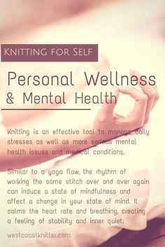 Knitting for Wellness