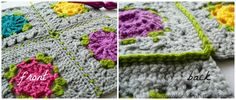 Joining Crochet Squares Diagonally 12 Joining Crochet Squares Part 2:  (Sc, ch 1, skip 1) Join