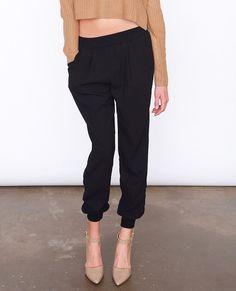Saturday Trouser Pants in Black