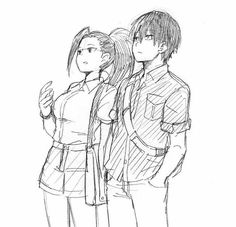 Todoroki Shouto × Yaoyorozu Momo