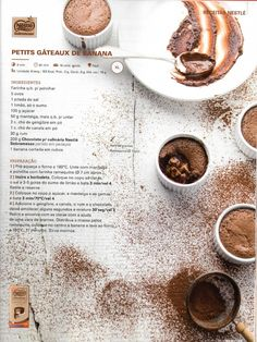 Revista bimby 2014 dezembro por Ricardo Fernandes I Companion, Banana, Multicooker, What To Cook, Chocolate Recipes, Cooking Tips, Make It Simple, Nom Nom, Sweet Tooth