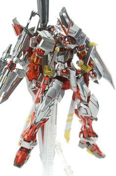 Custom Build: MG 1/100 Gundam Astray Red Frame Kai + Caletvwlch - Gundam Kits Collection News and Reviews