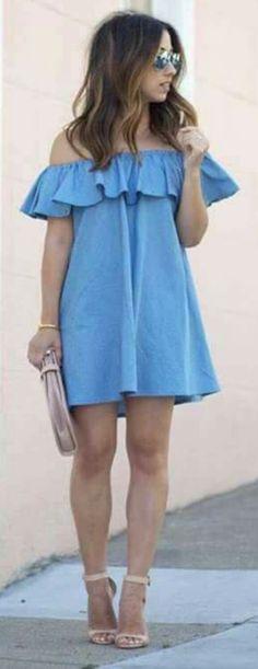 Vestido de Mezclilla