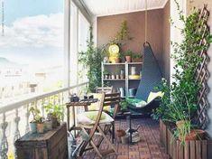 Resultado de imagen de decoracion balcones ikea