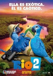En abril de 2014 vuelve la mejor animación con RIO 2, la continuación del éxito mundial del estudio BlueSky.