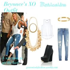 She was so cute in that video. Beyonce's XO music video outfit