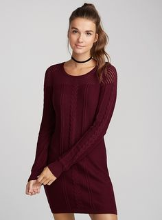 Dresses for Women Crochet Blocks, Keep Warm, Pulls, Cable Knit, Knit Dress, Boho, Clothes For Women, Knitting, My Style
