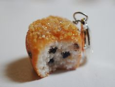 Blueberry Muffin Charm   by Sweetnsavorytrinkets, $8.00    It looks so realistic! Can't believe this is made out of clay :)
