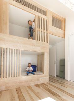 Детская-трансформер: 24 квадратных метра для двух мальчиков
