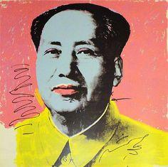 Mao, 1972 Silkscreen in Colors h: 36 x w: 36 in / h: 91.4 x w: 91.4 cm Pop Art