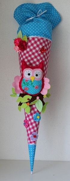 I love owls and, of course, itself made of cloth are even more beautiful! Diy For Kids, Crafts For Kids, Arts And Crafts, 1st Day Of School, School Fun, Love Sewing, Baby Sewing, Owl Crafts, Cool Diy