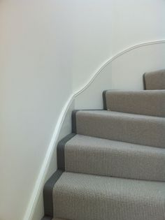 Cost Of Carpet Runners For Stairs Code: 6663507456 Grey Stair Carpet, Grey Carpet Hallway, Stairway Carpet, Hallway Carpet Runners, Cheap Carpet Runners, Beige Carpet, Patterned Carpet, Stair Runners, Modern Carpet