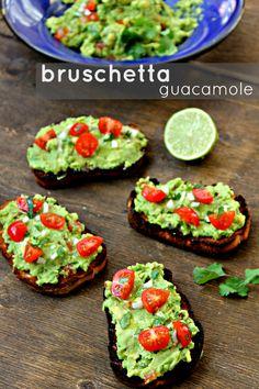 Bruschetta de guacamole {cocina fusión} | Cocina