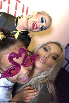 Girls night! Kim Kardashian treated her eldest - daughter North - to a fun girls night out as they attended the Katy Perry concert in Los Angeles on Friday