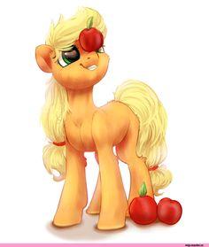 mlp art,my little pony,Мой маленький пони,фэндомы,Applejack,Эпплджек,mane 6,PeachMayFlower