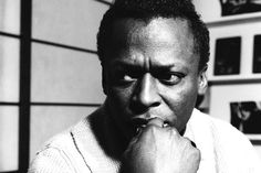 Miles Davis. Jazz trumpet virtuoso, composer and bandleader. Style icon. Strange, controversialman who seemed to have deep distaste for practically everything. One of the most respected, influential, innovative and greatest figures in the history of jazz. At the forefront of nearly every major stylistic development in jazz evolution. The very definition of cool.