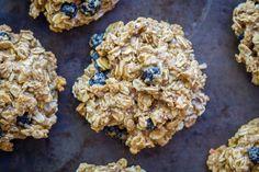 Healthy Make Ahead Breakfast Cookies - 6 Ways- Lemon Blueberry