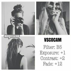 B5 Exposure +1 Contrast +2 Fade +12