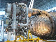 Rocketdyne F-1 Turbopump Detai