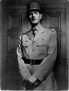Charles De Gaulle- A dedicated patriot, de Gaulle did not accept France's surrender to Germany in 1940. He instead fled to England, where he became a leader of the Free French movement, with the support of British prime minister Winston Churchill. From London, de Gaulle broadcast a message across the English Channel to his countrymen, calling for them to resist the German occupation. He also organized soldiers from French colonies to fight alongside.
