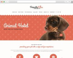 Paws - Animal Hotel HTML Website Template